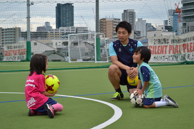 福島区 海老江でサッカー 英語サッカー教室