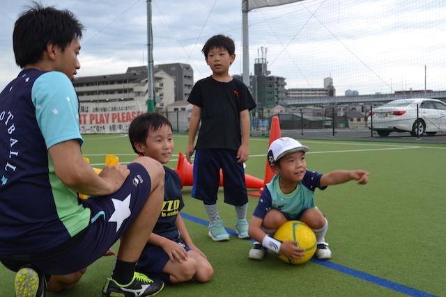 大阪 箕面市 福島区 海老江でサッカー 英語サッカー教室